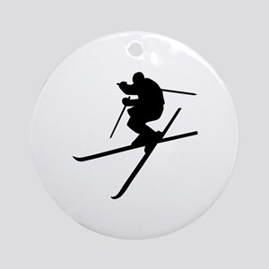 Skiing - Ski Freestyle Ornament (Round)