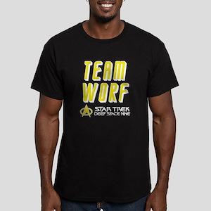 Team Worf Star Trek Deep Space Nine Men's Fitted T