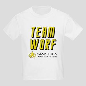 Team Worf Star Trek Deep Space Nine Kids Light T-S