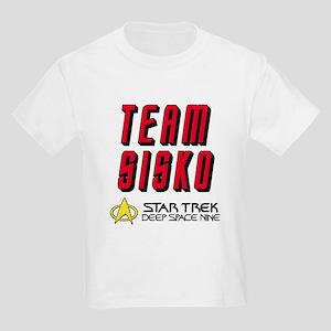 Team Sisko Star Trek Deep Space Nine Kids Light T-