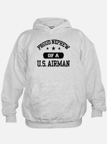 Proud Nephew of a US Airman Hoodie