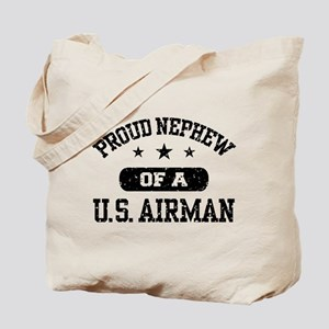 Proud Nephew of a US Airman Tote Bag