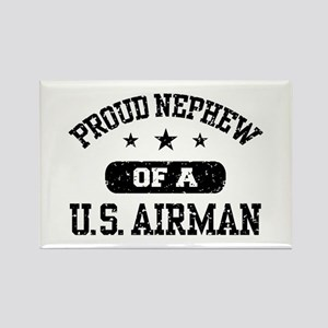 Proud Nephew of a US Airman Rectangle Magnet