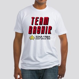 Team Bashir Star Trek Deep Space Nine Fitted T-Shi