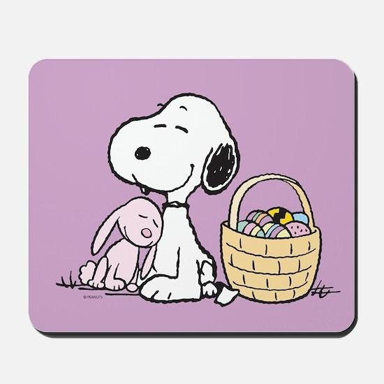 Beagle and Bunny Mousepad