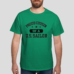 Proud Cousin of a US Sailor Dark T-Shirt