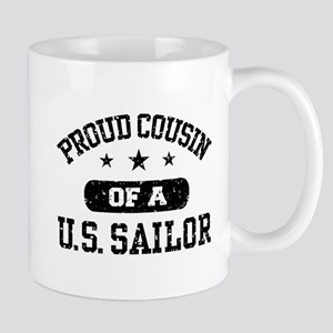 Proud Cousin of a US Sailor Mug