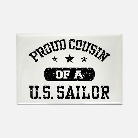 Proud Cousin of a US Sailor Rectangle Magnet
