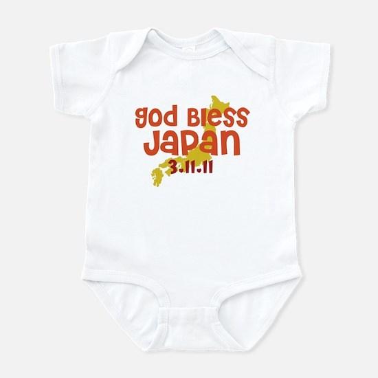 God Bless Japan Infant Bodysuit
