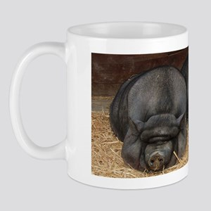 Big Bacon Pot Bellied Pigs Mug