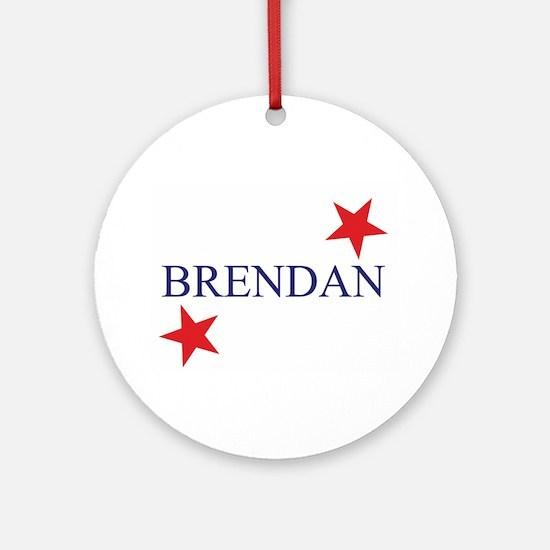 Brendan Ornament (Round)