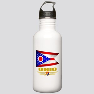 Ohio Pride Stainless Water Bottle 1.0L