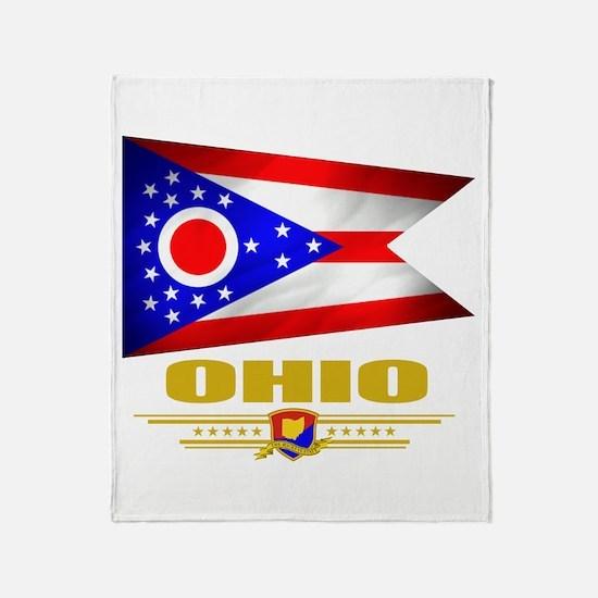 Ohio Pride Throw Blanket
