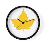 Canada Souvenir Varsity Wall Clock