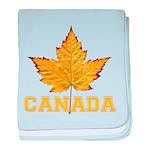 Canada Souvenir Varsity baby blanket