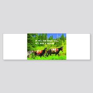 Mule Sticker (Bumper)