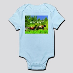 Mule Infant Bodysuit