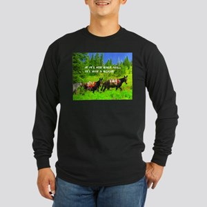 Mule Long Sleeve Dark T-Shirt