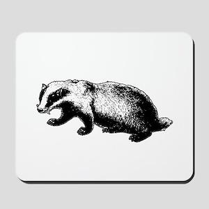 Honey Badger Doesn't Care Mousepad