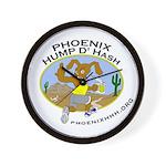 Phoenix Hump D'Hash Wall Clock