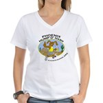Phoenix Hump D'Hash Women's V-Neck T-Shirt