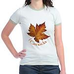 Canada Maple Leaf Jr. Ringer T-Shirt