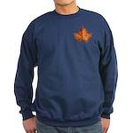 Canada Maple Leaf Sweatshirt (dark)