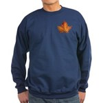 Canada Maple Leaf Sweatshirt (dark)