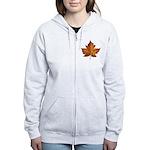 Canada Maple Leaf Women's Zip Hoodie