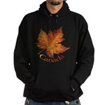 Canada Maple Leaf Hoodie (dark)