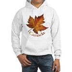 Canada Maple Leaf Hooded Sweatshirt