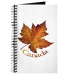 Canada Maple Leaf Journal