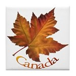 Canada Maple Leaf Tile Coaster