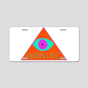 illuWINati Aluminum License Plate