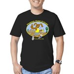 Phoenix Hump D'Hash Men's Fitted T-Shirt (dark)