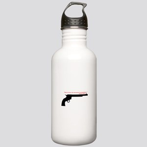 Wyatt Earp Quote Stainless Water Bottle 1.0L