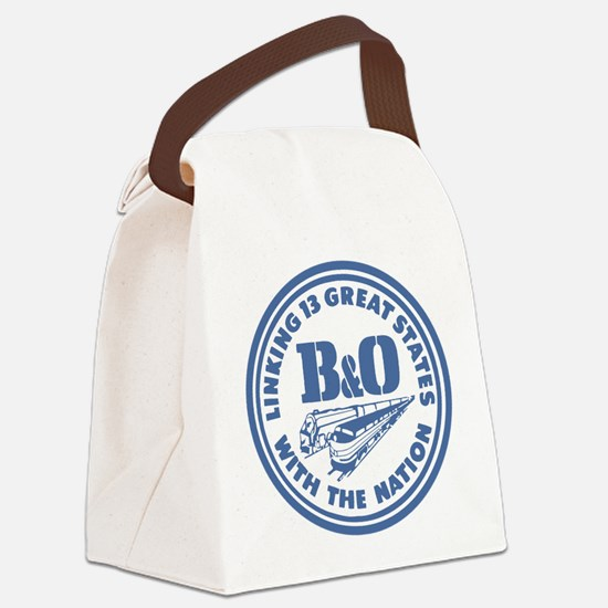 Baltimore and Ohio 13 states rail Canvas Lunch Bag
