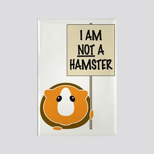 I am Not a Hamster Rectangle Magnet