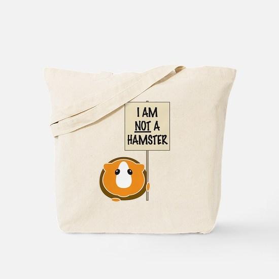 I am Not a Hamster Tote Bag