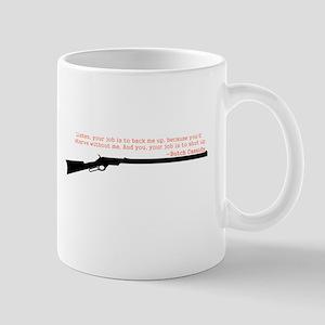 Butch Cassidy Quote Mug