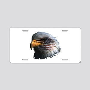 American Eagle Aluminum License Plate
