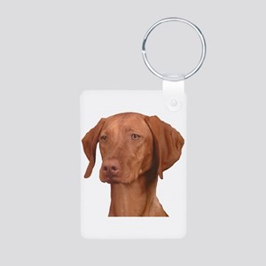 Vizsla Head Shot - Aluminum Photo Keychain