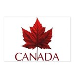 Canada Maple Leaf Souveni Postcards (Package of 8)