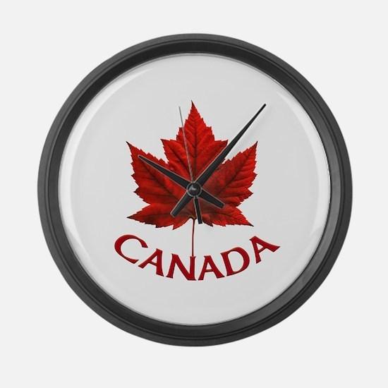Canada Souvenir Large Wall Clock