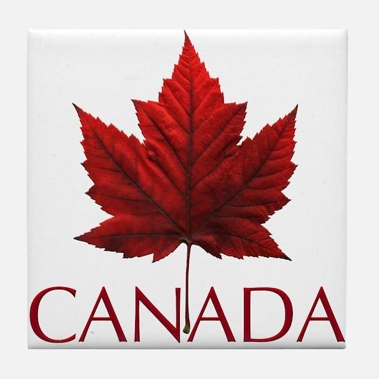 Canada Souvenir Tile Coaster