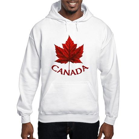 Canada Maple Leaf Souvenir Hooded Sweatshirt