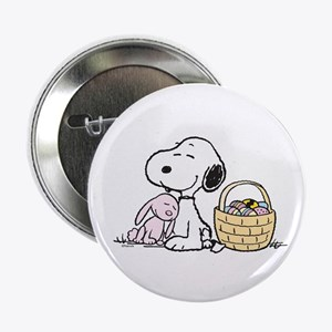 """Beagle and Bunny 2.25"""" Button"""