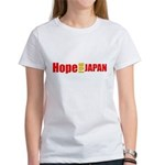 japan earthquake Women's T-Shirt