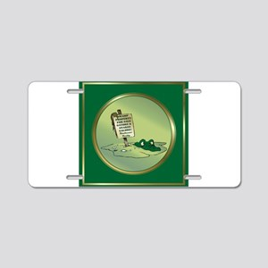Boudreaux Aluminum License Plate