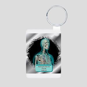 Radiologists Aluminum Photo Keychain
